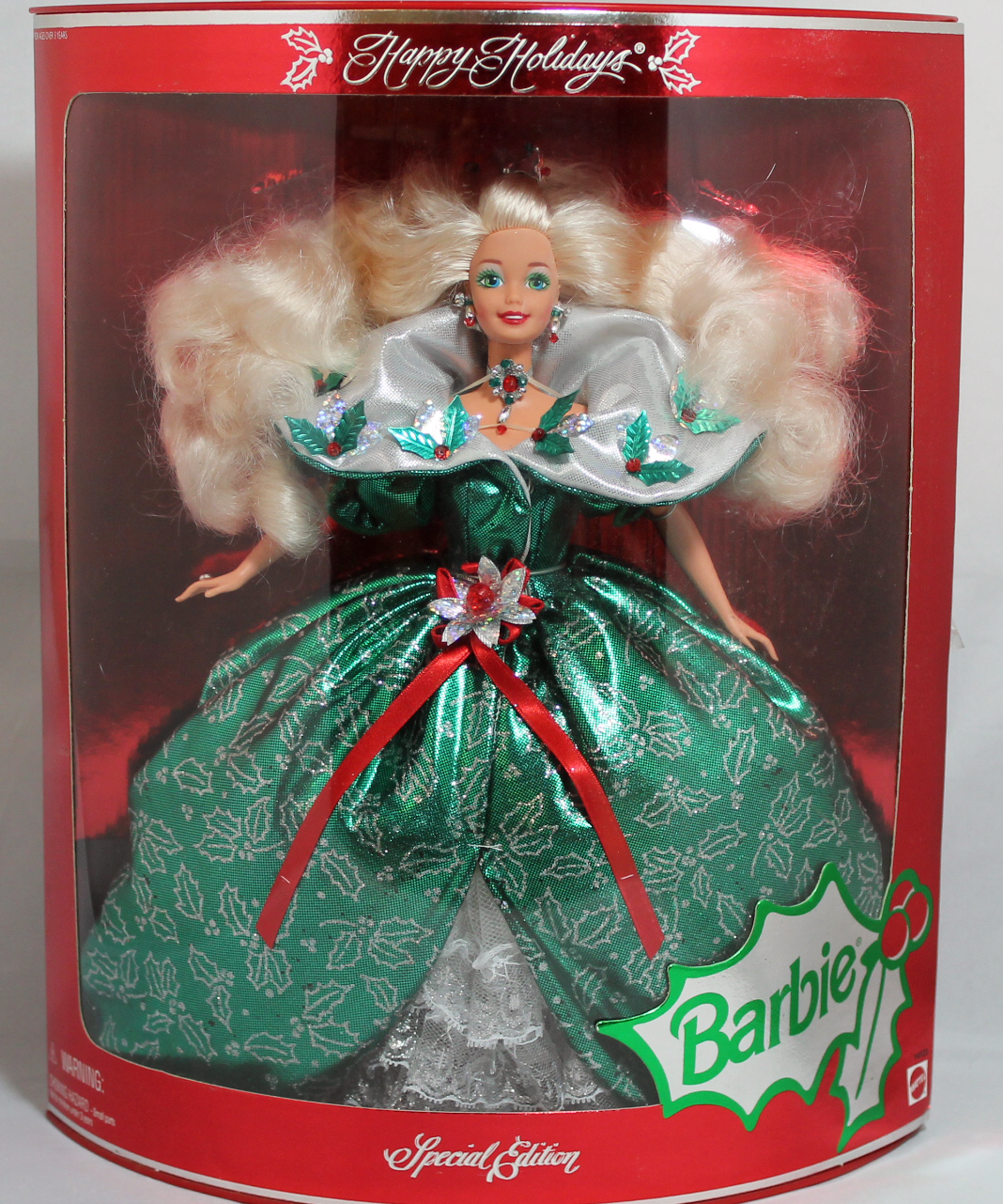 Barbie 14123 damaged box 1995 Happy Holidays Doll 7429914123 | eBay